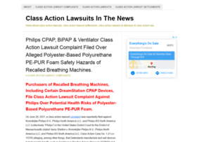 Classactionlawsuitsinthenews.com thumbnail