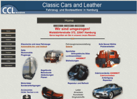 Classic-cars-leather.de thumbnail