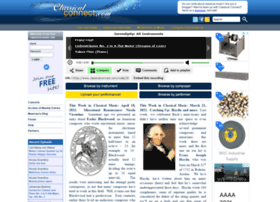 Classicalconnect.com thumbnail