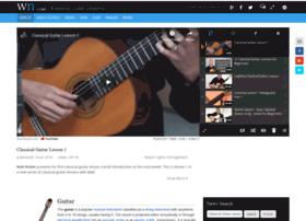 Classicalguitarlessons.org thumbnail