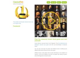 Classicaltest.net thumbnail