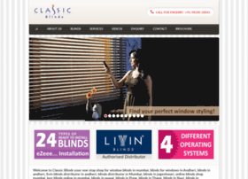 Classicblinds.in thumbnail
