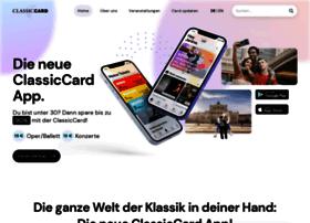 Classiccard.de thumbnail