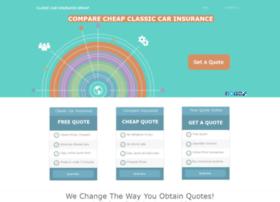 Classiccarinsurancegroup Com At Wi Classic Car Insurance Group Online Comparison Quotes Cci