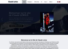Claude-lorius.com thumbnail