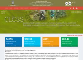 Clcss.dcmsme.gov.in thumbnail
