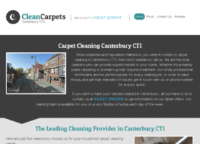 Cleancarpetscanterbury.co.uk thumbnail