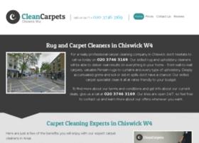 Cleancarpetschiswick.co.uk thumbnail