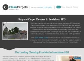 Cleancarpetslewisham.co.uk thumbnail