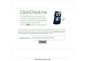 Cleancheck.me thumbnail