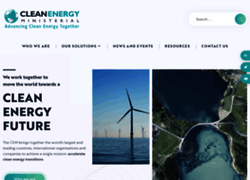 Cleanenergyministerial.org thumbnail