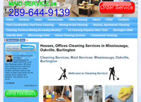 Cleaning-services-mississauga-oakville.ca thumbnail