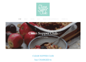 Cleansupperclub.co.uk thumbnail