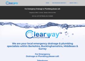 Clearwayplumbinganddrains.co.uk thumbnail