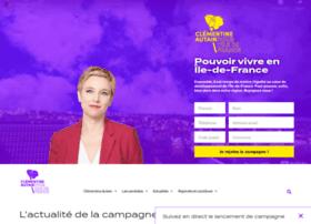 Clementineautain-idf.fr thumbnail