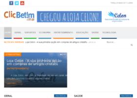 Clicbetim.com.br thumbnail
