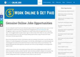 Clickonlinejobs.com thumbnail