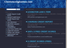 Clientslexingtonlaw.com thumbnail