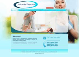 Clinicadeldeporte.cl thumbnail