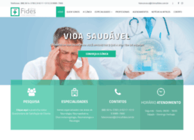 Clinicafides.com.br thumbnail