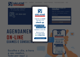 Clinicasaojose.med.br thumbnail