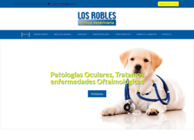 Clinicaveterinarialosrobles.cl thumbnail