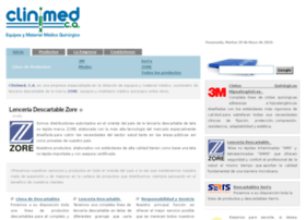 Clinimed.com.ve thumbnail