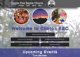 Clintonfbc.us thumbnail