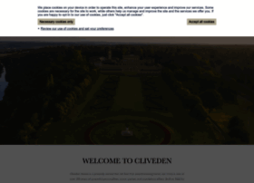 Clivedenhouse.co.uk thumbnail