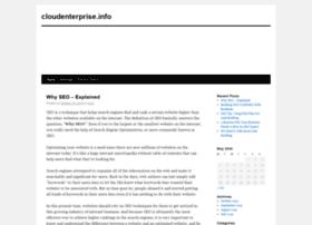 Cloudenterprise.info thumbnail