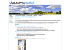 Cloudservicemarket.info thumbnail
