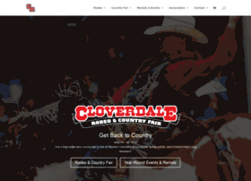 Cloverdalerodeo.com thumbnail