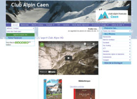 Clubalpin-caen.fr thumbnail