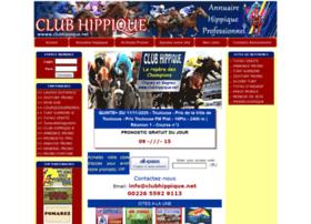 Clubhippique.net thumbnail