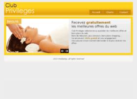 Clubprivileges.fr thumbnail