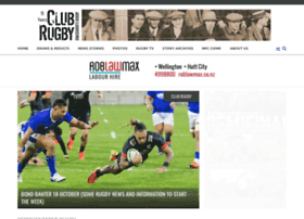 Clubrugby.co.nz thumbnail