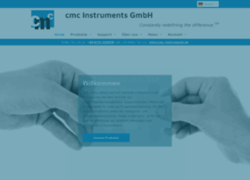 Cmc-instruments.de thumbnail