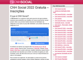 Cnhsocial.net.br thumbnail