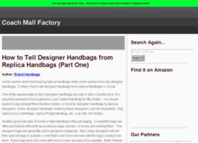 Coachmallfactory.com thumbnail