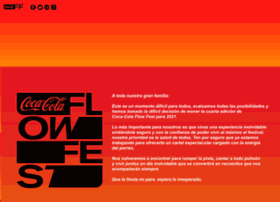Cocacolaflowfest.com.mx thumbnail
