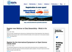 Codata.org thumbnail