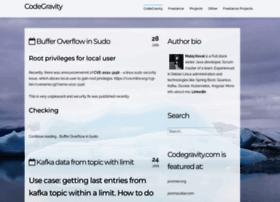 Codegravity.com thumbnail
