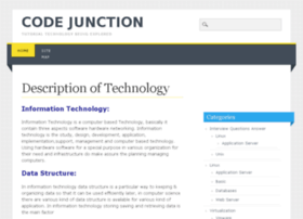 Codejunction.info thumbnail