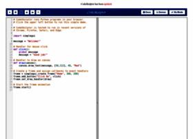 Codeskulptor.org thumbnail