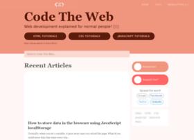 Codetheweb.blog thumbnail