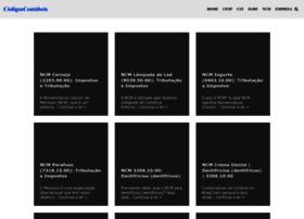 Codigoscontabeis.com.br thumbnail
