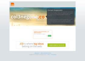 Col3negone.co thumbnail