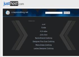 Colapinclothing.net thumbnail