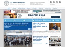 Colegioabogadosazul.org.ar thumbnail