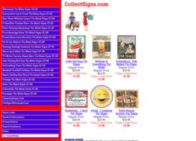Collectsigns.com thumbnail
